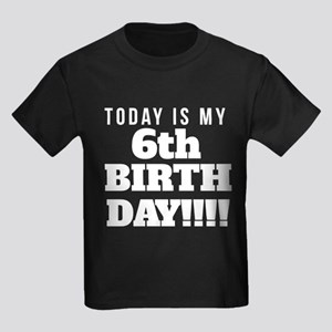 Today Is My 6th Birthday T-Shirt