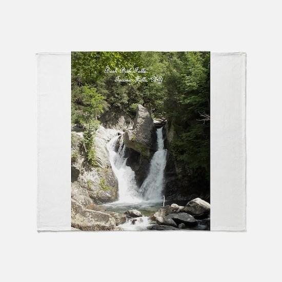 Unique Falls Throw Blanket