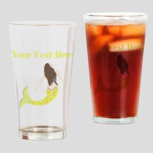 Mermaid Drinking Glass