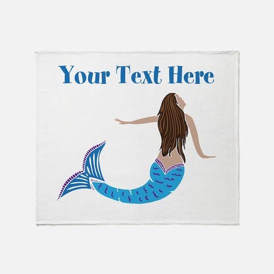 Mermaid Throw Blanket