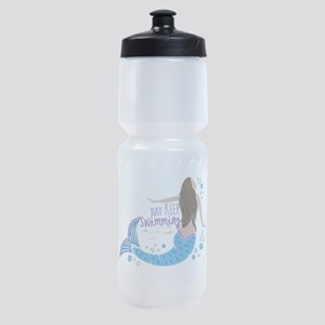 Just Keep Swimming Mermaid Sports Bottle