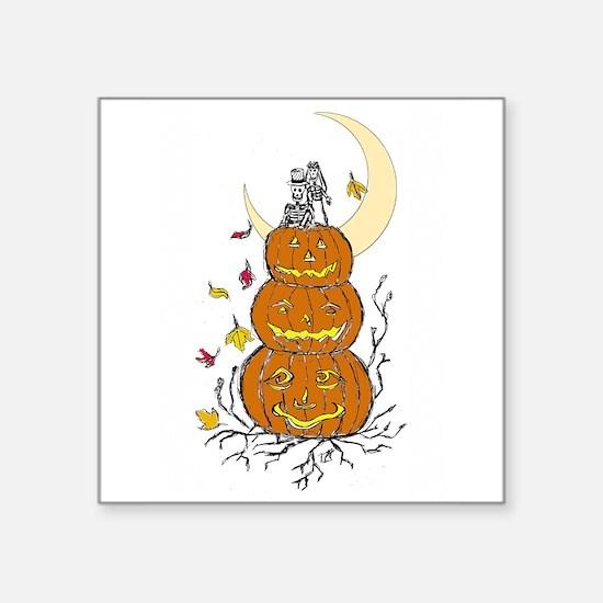 Halloween and Love Sticker