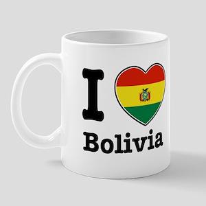 I love Bolivia Mug