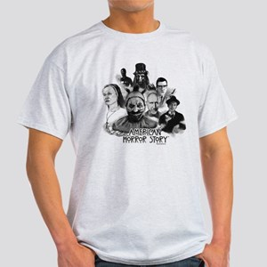 American Horror Story Characters Light T-Shirt