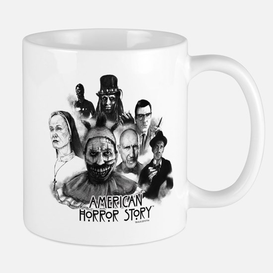 American Horror Story Characters Mug