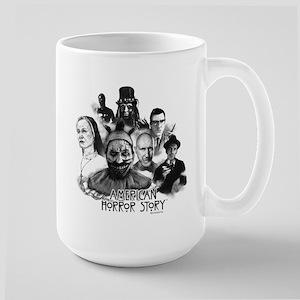 American Horror Story Characters Large Mug