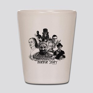 American Horror Story Characters Shot Glass
