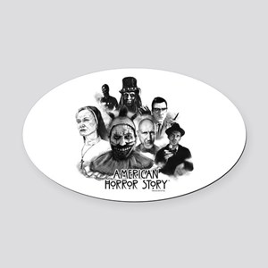 American Horror Story Characters Oval Car Magnet