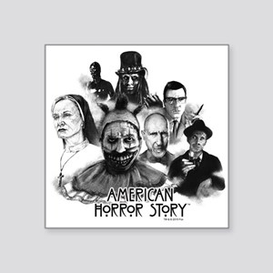 "American Horror Story Chara Square Sticker 3"" x 3"""