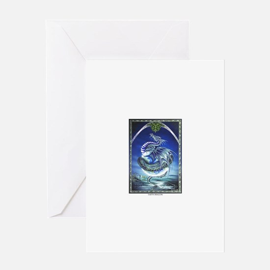 Earth Dragon Greeting Cards