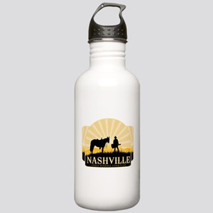 Nashville TV Water Bottle