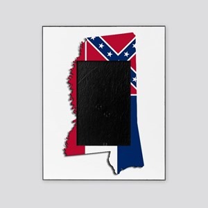 Mississippi State and Flag Picture Frame