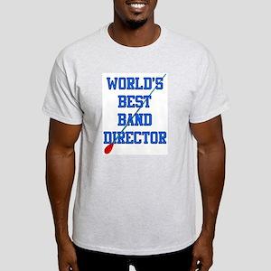 World's Best Band Director Light T-Shirt