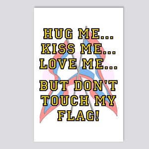 Don't Touch My Flag Postcards (Package of 8)