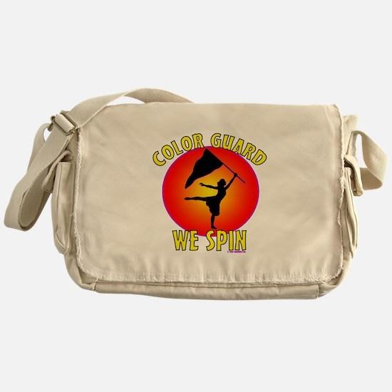 Color Guard - We Spin Messenger Bag