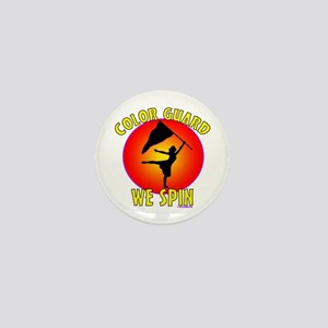 Color Guard - We Spin Mini Button (10 pack)