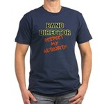 Band Director: Respect Men's Fitted T-Shirt (dark)