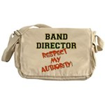 Band Director: Respect Authority Messenger Bag