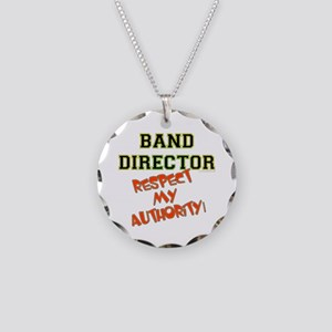 Band Director: Respect Autho Necklace Circle Charm
