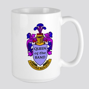 Drum Major - Queen of the Band Large Mug
