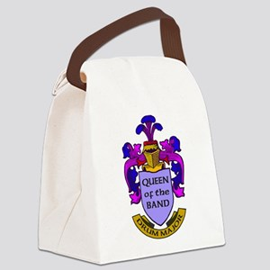 Drum Major - Queen of the Band Canvas Lunch Bag