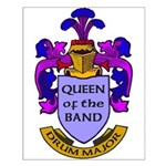 Drum Major - Queen of the Band Small Poster