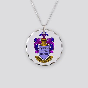 Drum Major - Queen of the Ba Necklace Circle Charm