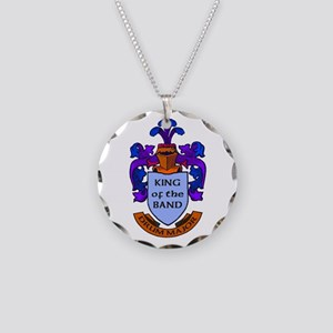 Drum Major - King of the Ban Necklace Circle Charm