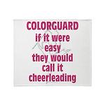 Colorguard Pride Throw Blanket