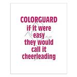 Colorguard Pride Small Poster