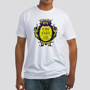 Drum Major: King of the Band Fitted T-Shirt