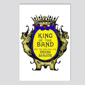 Drum Major: King Of The B Postcards (package Of 8)