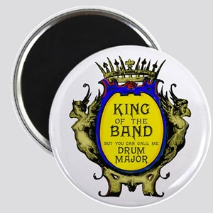"Drum Major: King Of The Ban 2.25"" Magnet Magn"