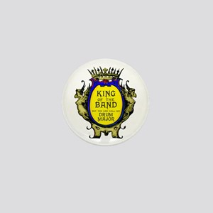 Drum Major: King Of The Band Mini Button (10 Pack)