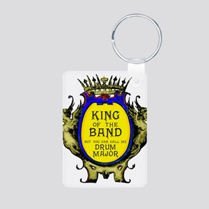 Drum Major: King of the Ba Aluminum Photo Keychain