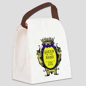 Drum Major: Queen of the Band Canvas Lunch Bag