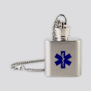 Star of Life Flask Necklace