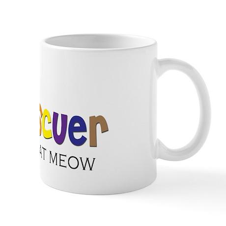 cat rescuer Mug