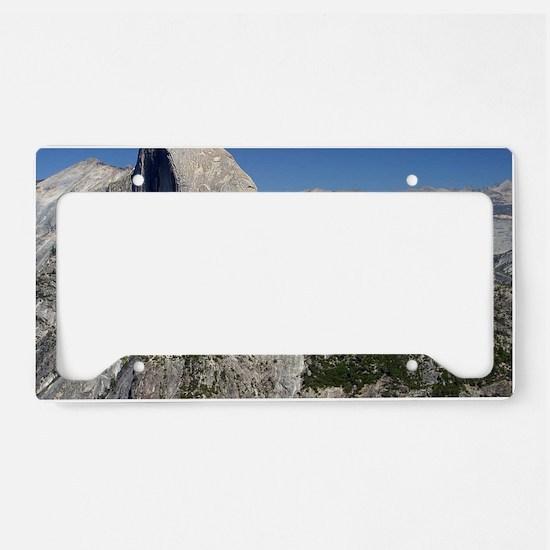 yosemite national park/ License Plate Holder