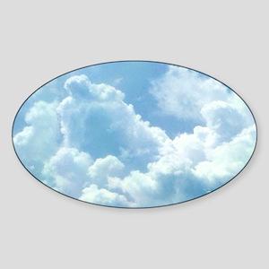Puffy Cloud Sticker
