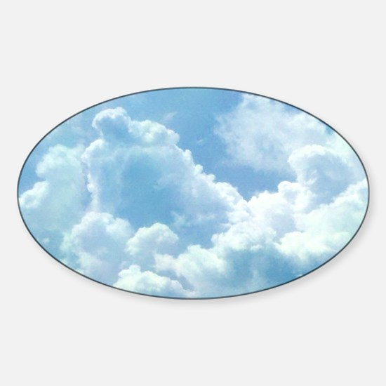 Puffy Cloud Decal