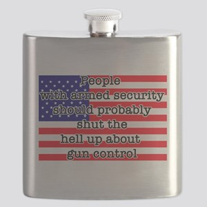 Armed security Flask