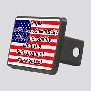 Armed security Rectangular Hitch Cover