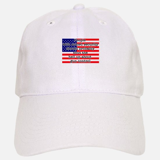 Armed security Baseball Baseball Cap