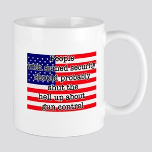 Armed security Mug