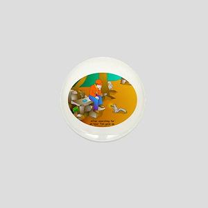 Geocaching Blues Mini Button