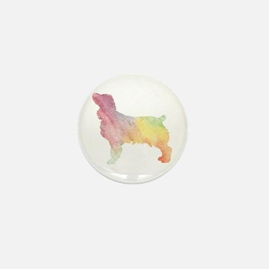 WaterColorRainbow Mini Button