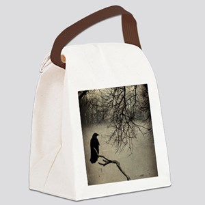 In The Fog  Canvas Lunch Bag