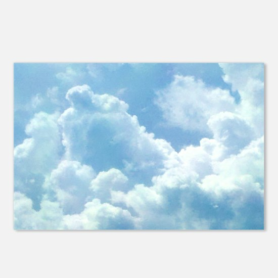 Puffy Clouds Postcards (Package of 8)