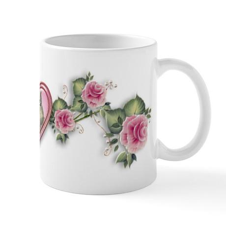 Painted Roses Mug